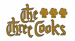 Restaurant dining in Bungay - The Three Cooks Header Logo